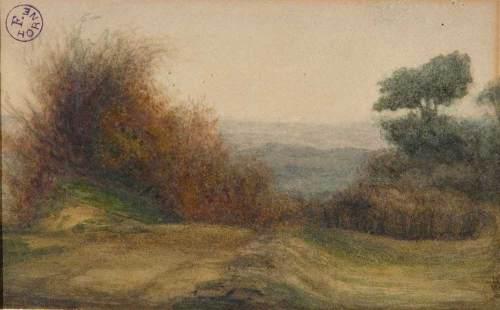 Arte e arti articolo il paesaggio disegnato john for Disegni di cabina di campagna
