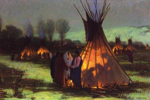 """Il Gufo Su Indiani D America: """"LA NUOVA FRONTIERA"""": Su A R T E"""